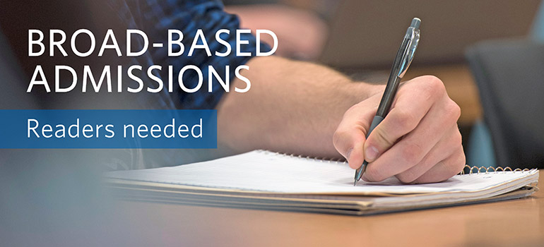 BBA (Broad-based Admissions) Reading
