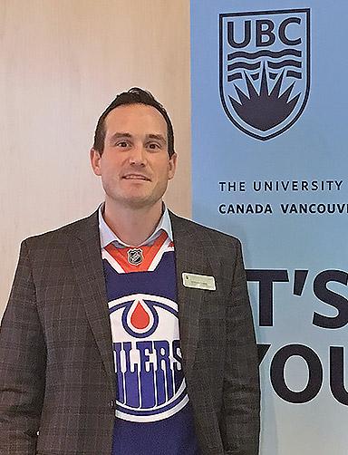 Student Recruiter Advisor Anthony Dodds.