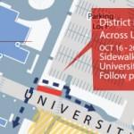 University Way construction map