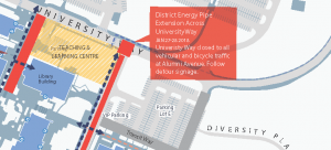University Way detour in effect this weekend