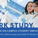 Work Study call for proposals: Jan 1 to 31, 2018
