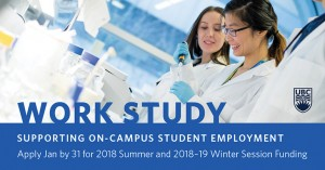 Work Study call for proposals