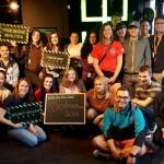 Aboriginal Destination UBC participants after their escape room challenge