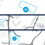 Cropped Convocation2018 staff parking map