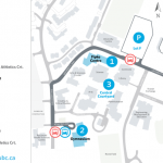 Cropped Convocation 2018 information map