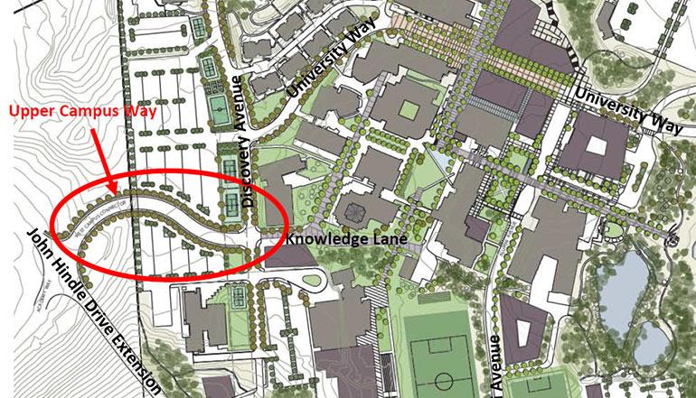 Image of Upper Campus Way