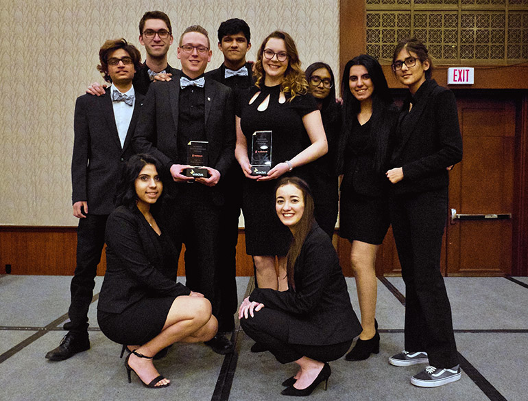 For the second consecutive year, Enactus UBC Okanagan earned the Regional Champion award in the Scotiabank Environmental Challenge at the Western Canada Regional Exposition.