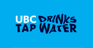 UBC Drinks Tap Water