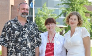 Anthropology professors from UBC Okanagan contributing to a new Canadian cultural anthropology textbook include Mike Evans, head of the Community, Culture and Global Studies unit, Robin Dods, editor of the Canadian edition, and Christine Schreyer.