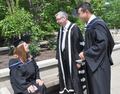 Graduation day full of firsts at UBC Okanagan