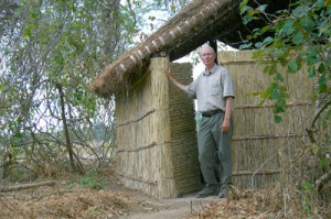 Zoologist William Bates, shown here during a research trip to Zambia, Africa, worked with fellow professors Scott Reid and Mark Rheault to establish a new zoology program at UBC Okanagan.