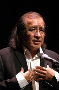 Nationally renowned Cree playwright, novelist, and children's author Tomson Highway will speak in Kelowna on Nov. 3.