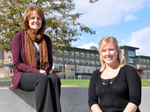 UBC Okanagan social work graduate students Anne Stack and Erin Ptolemy have each received major fellowship awards recognizing their research work in health care.