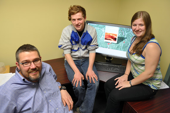 UBC students create fire mapping social network for Okanagan