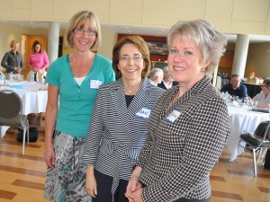 Researchers from UBC's Okanagan campus are working with hospice societies from throughout B.C.'s Southern Interior. The team includes, from left, Barb Pesut, Assistant Professor of Nursing, Joan Bottorff, Director of the Institute for Healthy Living and Chronic Disease Prevention, and Carole Robinson, Acting Director of the School of Nursing.