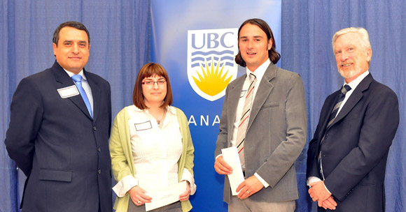 UBC honours two professors with Teaching Excellence and Innovation Award