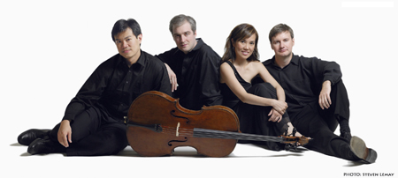 Free centenary concert features UBC's Borealis String Quartet