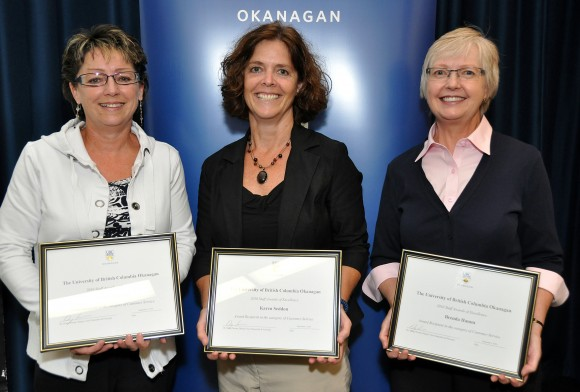 UBC's Okanagan staff honoured for customer service excellence