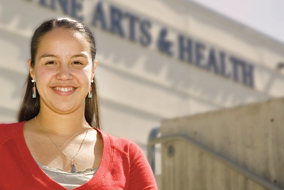 Viola Rose Brown is one of 14 Aboriginal students graduating from UBC's Okanagan campus this year.