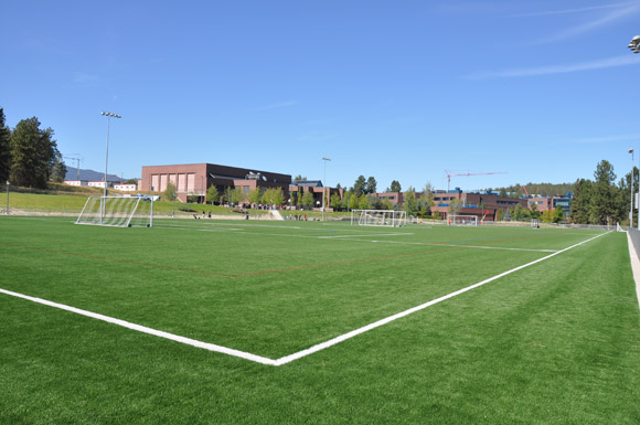 Nonis Sports Field officially opened at UBC's Okanagan campus