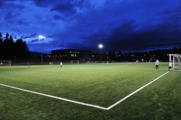 Nonis Sports Field Officially Opened At Ubc S Okanagan Campus