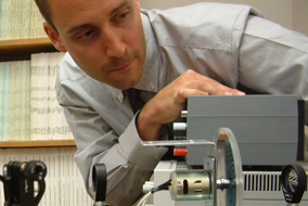 The UBC Micro-Optical Engineering Research Program is developing integrated optical processors  - photo by Karin Wilson