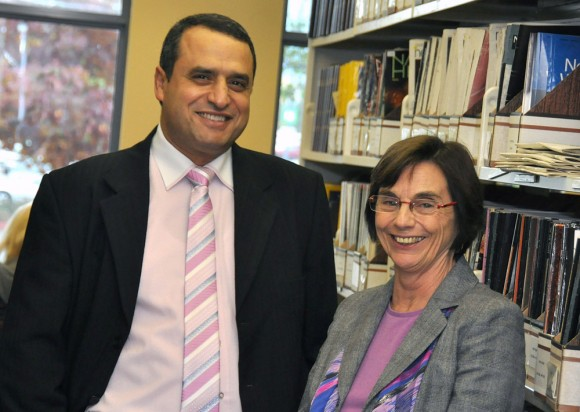 A new Centre for Scholarly Communications is being established at UBC's Okanagan campus with support from Alaa Abd-El-Aziz, Provost and Vice Principal, and Gwen Zilm, Associate Vice President, Learning Services.