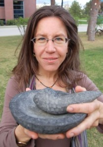 Cultural evolution researcher Liane Gabora is  developing software that could help explain, for  example, how the concept of a using a mortar with  a pestle evolved.