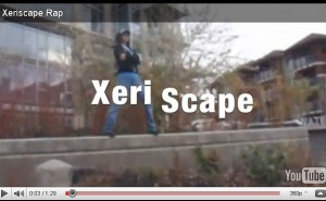 Student rap video promotes water-conserving xeriscape gardens