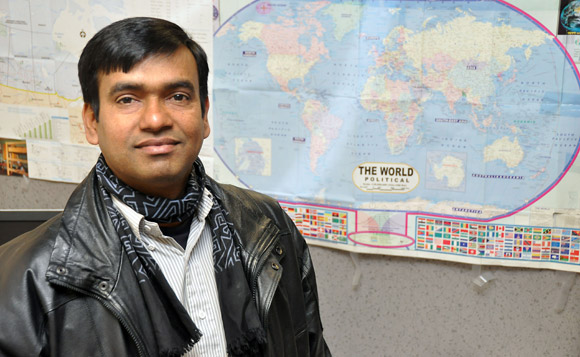 Anwar Hossen, a PhD candidate at UBC's Okanagan campus, has received the 2010 Jawaharlal Nehru Humanitarian Award. The award is given each year by the Centre for India and South Asia Research, part of the Institute for Asian Research at UBC's Vancouver campus.
