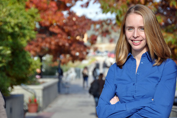 Engineering student Emily Landry has acquired funding to create an electronics learning lab at UBC's Okanagan campus.
