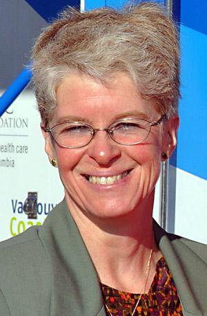 Nursing professor Kathy Rush