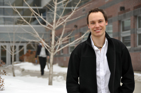 Chris Willie is pursuing a PhD in Human Kinetics at UBC's Okanagan campus. His research is about to be published in one of the world's top clinical journals, Hypertension.