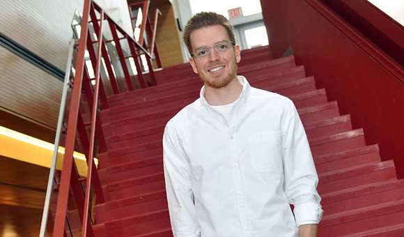 Master of Science student Graeme Koelwyn