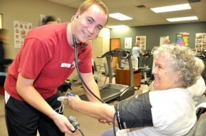 Fourth-year Human Kinetics student Shaun Crowell is expected to graduate at the top of the first graduating class.