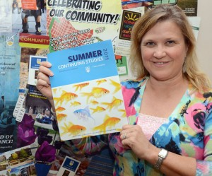 Continuing Studies program leader Elaine Crebo is encouraging people to check out the summer courses.