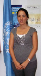 UBC alumna Luisa Vasquez has landed her dream job of working for the United Nations and she credits the university for helping her turn her dream into a reality.