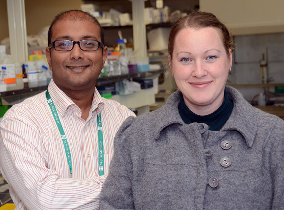 Sanjoy Ghosh and Deanna Gibson, assistant professors in biology with the Irving K. Barber School of Arts and Sciences at the University of British Columbia's Okanagan campus have received a US$100,000 Grand Challenges Exploration grant from the Bill and Melinda Gates Foundation.