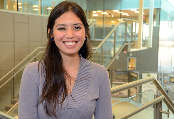 Originally from Mexico, Karen Robles has been studying mechanical engineering at the University of British Columbia's Okanagan campus for the past four years. She will spend the next two years earning her master's degree before entering the job market. She plans on staying in Canada after her schooling is complete.
