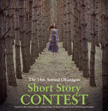 2011 Okanagan short story contest poster