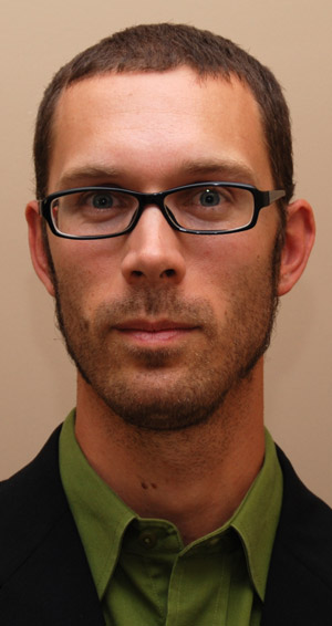 George C. Grinnell, assistant professor of English, UBC Faculty of Creative and Critical Studies