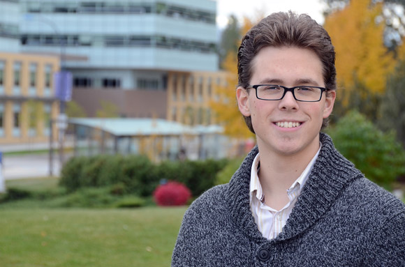 For Okanagan campus Bachelor of Arts student James Beaton, receiving the James R. Conway Scholarship and Bursary Endowment literally changed his life, allowing him to attend the highly regarded university.