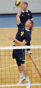 Men's Heat volleyball player Greg Niemantsverdriet says scholarships played a vital role in being able to play sports and get an education.