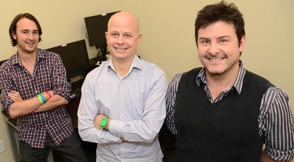 UBC psychology professors Michael Woodworth, Zach Walsh and Stephen Porter.