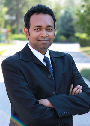 Shahria Alam, assistant professor of Engineering