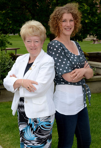 Catherine Comben and Laura Mandelbaum were honoured as distinguished alumni