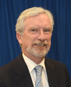 Doug Owram, deputy vice chancellor and principal