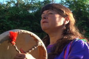 One of the Indigenous healers featured in the documentary film, Holistic Healing in the Okanagan.