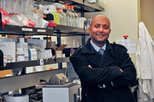 Researcher Sanjoy Ghosh, assistant professor of biology with the Irving K. Barber School of Arts and Sciences at UBC's Okanagan campus, is investigating the role Omega-6 polyunsaturated fatty acids (PUFA) play in the development of heart disease in people with diabetes and obesity.