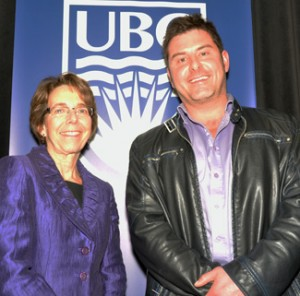 UBC Researchers of the Year Joan Bottorff and Stephen Porter
